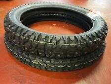 VEE RUBBER TYRES FRONT REAR SET TRAIL ENDURO STYLE 275 X 21 410 X 18