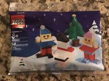 new LEGO Christmas Tree Holiday Seasonal Snowman 40008 SHIPS FREE