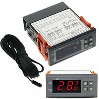220-240V Digital Temperature Controller Temp Sensor Thermostat Control STC-1000