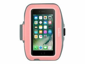 Belkin Sport-Fit Plus Armband for iPhone 8/7/6s/6 Pink Non-Slip 9.5-15in