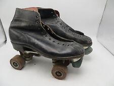 Vintage 1950's Era Roller Skates - Sure Grip Supreme Deluxe - Size 9