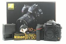 Nikon D750 24.3MP Digital SLR Camera (Body Only) - Black ***1,808 shots***