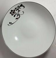 Mikasa rare Chocolate Swirl 5059644 Porcelain Open Vegetable Serving Bowl