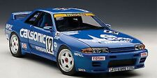 AUTOART NISSAN SKYLINE GT-R R32 GROUP A 1990 CALSONIC #12 1:18 New!