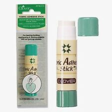 Clover Fabric Adhesive Stick Glue For Temporary Hold #514