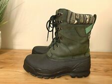 JOHN DEERE Thermolite Men's Leather Rubber Winter Work Boots Size 10.5 RARE!