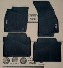 Audi A8 D5 4N original S8 Fußmatten 4 Gummimatten vorne + hinten Gummifußmatten