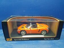 Maisto Opel Speedster Diecast Car 1-18 Scale