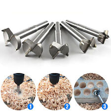 16-35mm 5PC Alloy Flat Wood Drill Bit Woodworking Set Metal Hole Saw Cutter Tool