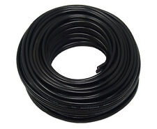 16 Gauge 50 Feet Black Speaker Wire Zip Cable Copper Clad Car Home Stereo Audio