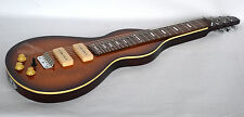 NEW WEISSENBORN SHAPE LAP STEEL GUITAR IN SUNBURST - RIGHT HAND ONLY