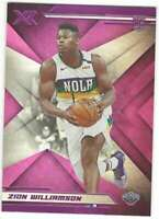 ZION WILLIAMSON RC 2019-20 Panini Chronicles XR Pink #271 ROOKIE Pelican ID:5724