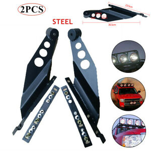 Suv Off-road Modified Roof LED Light Strip Bracket Car Upper Bar Mounting Stand