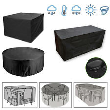 More details for waterproof garden patio furniture set cover covers for outdoor rattan table cube