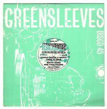 """CONRAD CRYSTAL & SHERRIFF-gwan yu ways      greensleeves 12""""   (hear)    reggae"""