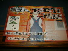 """Dark horse brewing company Crooked Tree Ipa """"Electric Hillbilly"""" poster"""