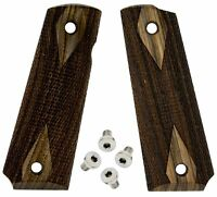 1911 Classic Wood Grips Full Size + stainless steel  screws 1911 set