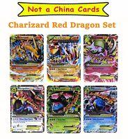 Pokémon Trading Card Game Mega EX Set 6 Cards Charizard Y Version Platinum Cards