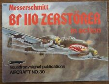 Messerschmitt Bf 110 in Action - Squadron/Signal