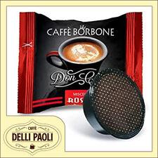 400 capsule compatibil A Modo Mio Caffè Borbone Don Carlo miscela rossa RED