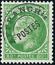 "FRANCE PREOBLITERE TIMBRE STAMP N° 88 "" TYPE CERES 80c VERT JAUNE "" NEUF (x) TB"