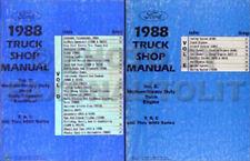 1988 ford big truck shop manual set f600 f700 f800 ft800 ft900 c8000 repair