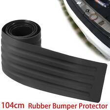 Car Rear Boot Bumper Sill Protector Plate Trim Strip Rubber Cover Guard Pad UK