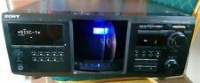 Sony Mega almacenamiento 400 Cd Player CDP-CX455