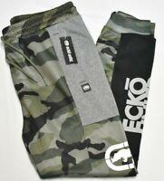 Ecko Unltd Jogger Pants Men's In And Out Logo Fleece Sweatpants Combat Camo Q885
