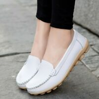 Women's Driving  Moccasins Gommino Walking Casual Flats Shoes Slip on Loafers SZ