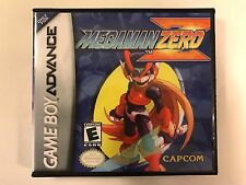 Megaman Zero - GBA - Replacement Case - No Game
