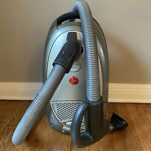 Hoover S3670 HEPA Canister Vacuum Cleaner Base & Hose Two Attachments Sweeper W