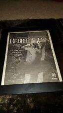 Debbie Allen Special Look Rare Original Radio Promo Poster Ad Framed!