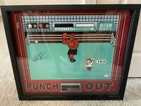 Mike Tyson JSA Signed Auto Framed 26 X 22 Punch Out Photo Nintendo Controller
