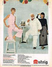 publicité advertising 1967   LA Bière Mutzig