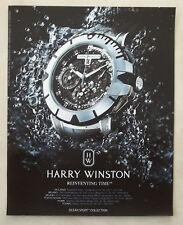 B442-Advertising Pubblicità-2012-HARRY WINSTON REINVENTING TIME
