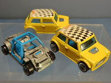 "MATTEL HOTWHEEL'S  MODEL No.XXXX   MINI COOPER "" RALLY""  / BEACH BUGGY CAR"