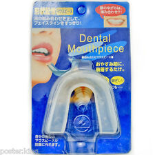 Dental Mouth Guard Teeth Grinding Anti Snoring Bruxism with Protective Hard Case