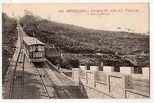 CARTOLINA BARCELLONA TIBIDABO FUNICOLARE RIF 6302