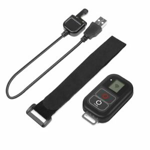 WiFi Remote Control With Charger Cable Wrist Strap for GoPro Hero 8 7 6 5 4 3 3+