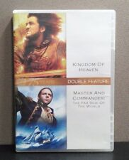 Kingdom of Heaven / Master and Commander : The Far Side Of The World  (DVD)  LN
