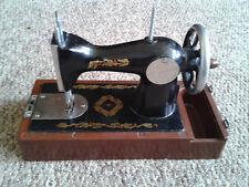 Exclusive Black Version Children mini Sewing Machine Toy box USSR