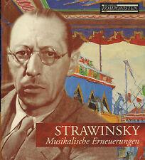 CD STRAWINSKY -MUSIKALISCHE ERNEUERUNGEN  CD mit BUCH,Top Zustand