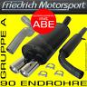 FRIEDRICH MOTORSPORT AUSPUFFANLAGE Opel Astra G CC Coupe+Cabrio 1.6l 16V 1.8l 16