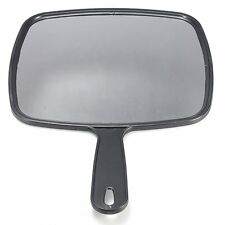 Hand Held Hair dressing Salon Barbers Hairdressers Paddle Mirror Tool BT