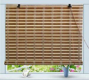 """""""Bamboo Roll Up Window Blind Sun Shade W32"""""""" x H72"""""""" """""""