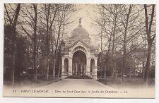 paray-le-monial   dôme du sacré-coeur dans le jardin des chapelains .