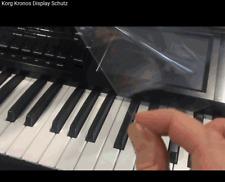 Für KORG Kronos Keyboard SYNTH Displayschutz Sticker ohne Kleber hält adhäsiv