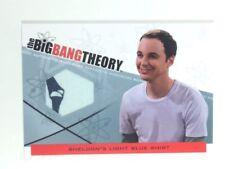 JIM PARSONS BIG BANG WARDROBE CARD, COA & MYSTERY GIFT (BLUE SHIRT)
