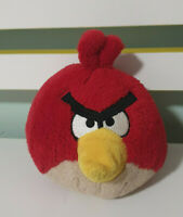 RED ANGRY BIRD  SOFT TOY PLUSH TOY 12CM TALL! 2011 ROVIO MOBILE!